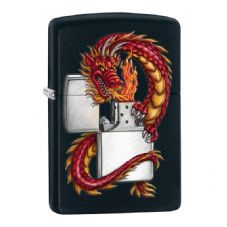 Dragon With Zippo Lighter